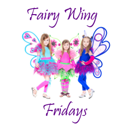 three girls dressed as fairies