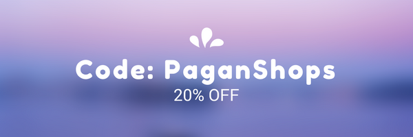 20% off using code: PaganShops