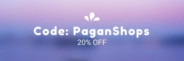 20% off using code: PaganShops